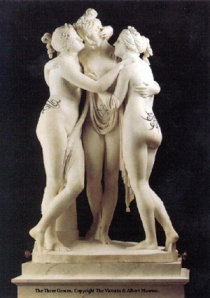 Three graces tattooed